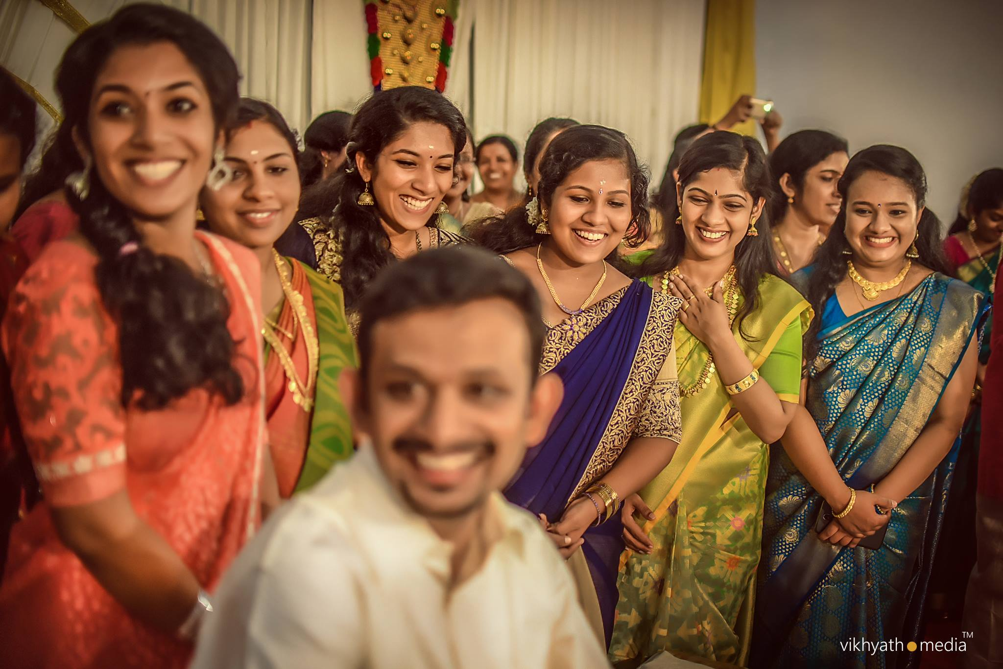 Hindu candid wedding photography