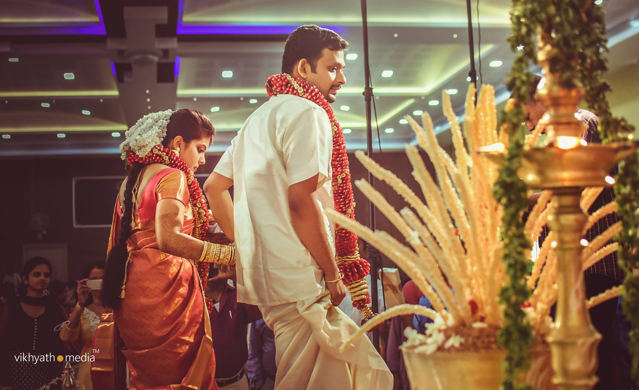 Hindu nair wedding ceremony