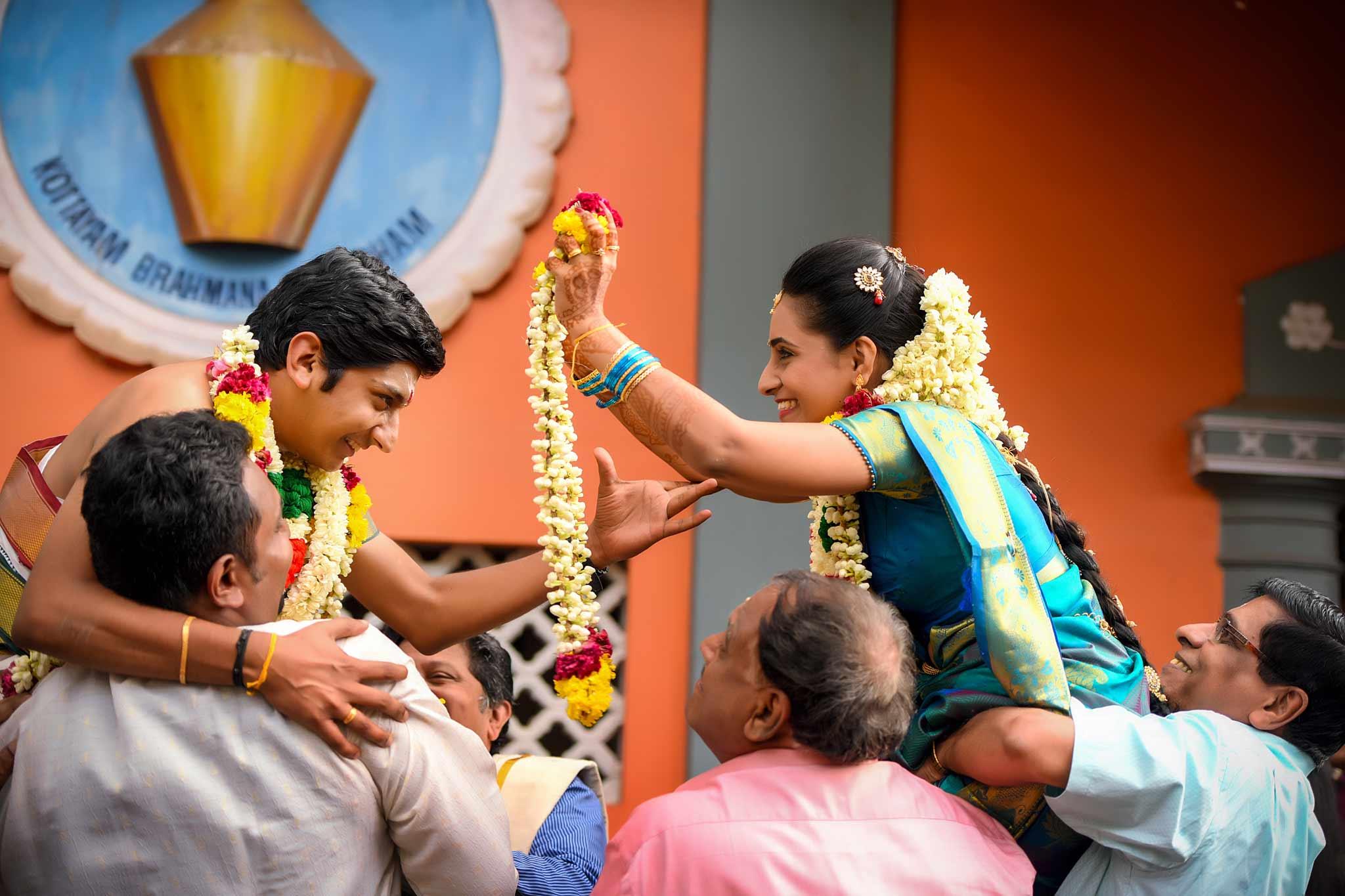 Tamil Brahmin Wedding-Malai Matral