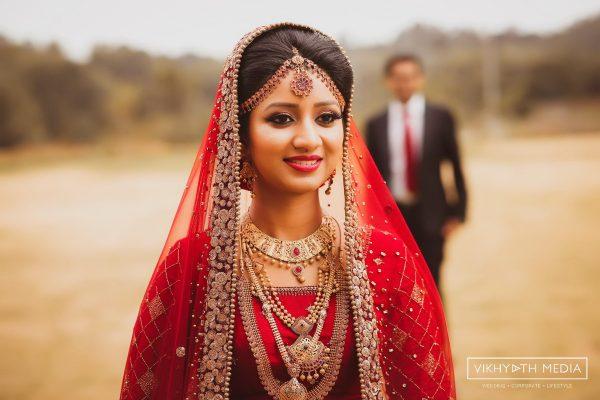 Beautiful Kerala Muslim bride candid photo