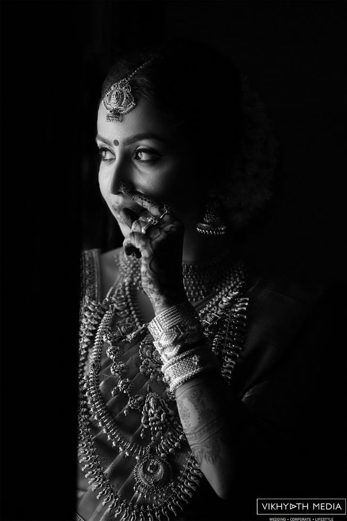 kerala bridal portrait